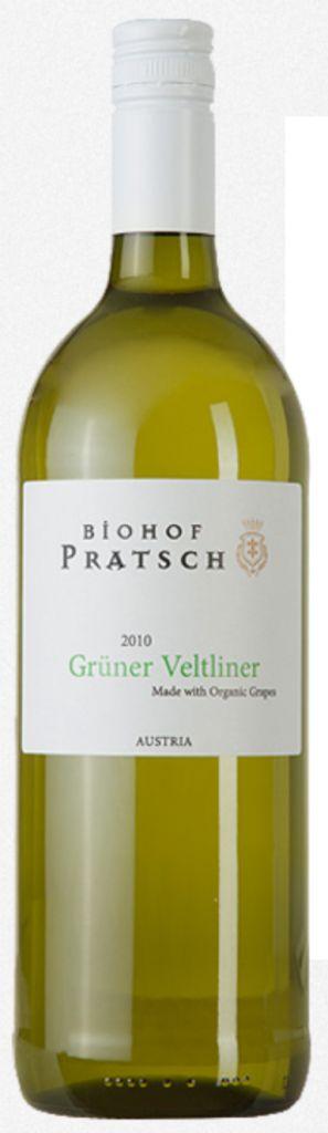 BIOHOF PRATSCH GRUNER VELTLINER 750ML
