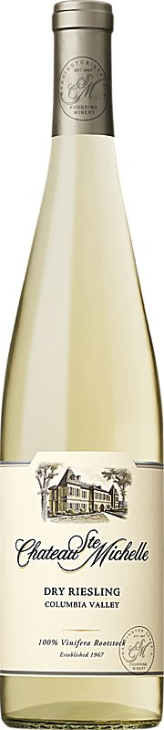 CHATEAU STE MICHELLE DRY RIESLING 750ML