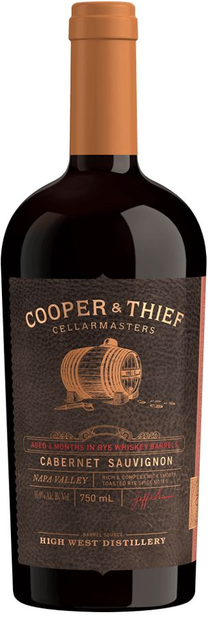 COOPER & THIEF CABERNET 750ML