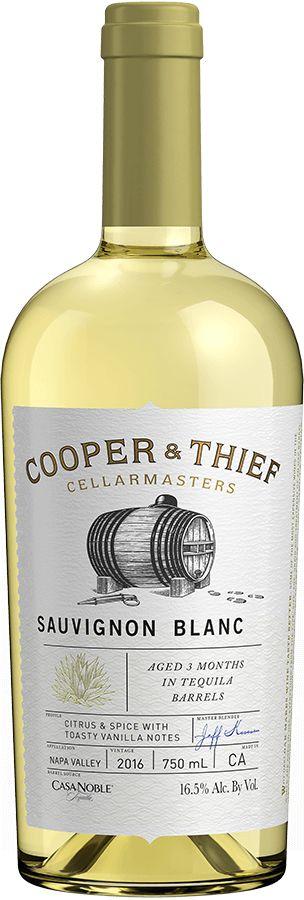COOPER & THIEF TEQUILA SAUVIGNON BLANC 750ML