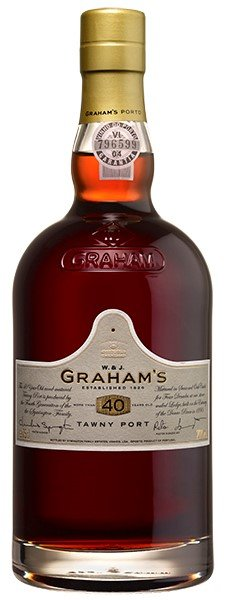 GRAHAMS 40 YEAR TAWNY PORTO 750ML