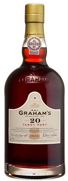 GRAHAMS 20 YEAR TAWNY PORTO 750ML