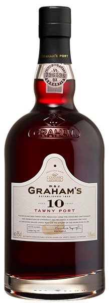 GRAHAMS 10 YEAR TAWNY PORTO 750ML