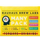 Bauhaus Brew Labs BAUHAUS MANY PACK SAMPLER 12 PK CAN