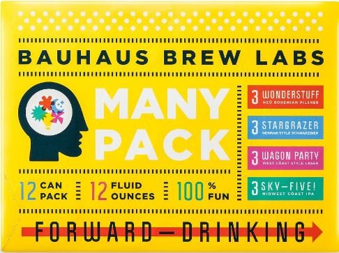 Bauhaus BAUHAUS MANY PACK SAMPLER 12 PK CAN