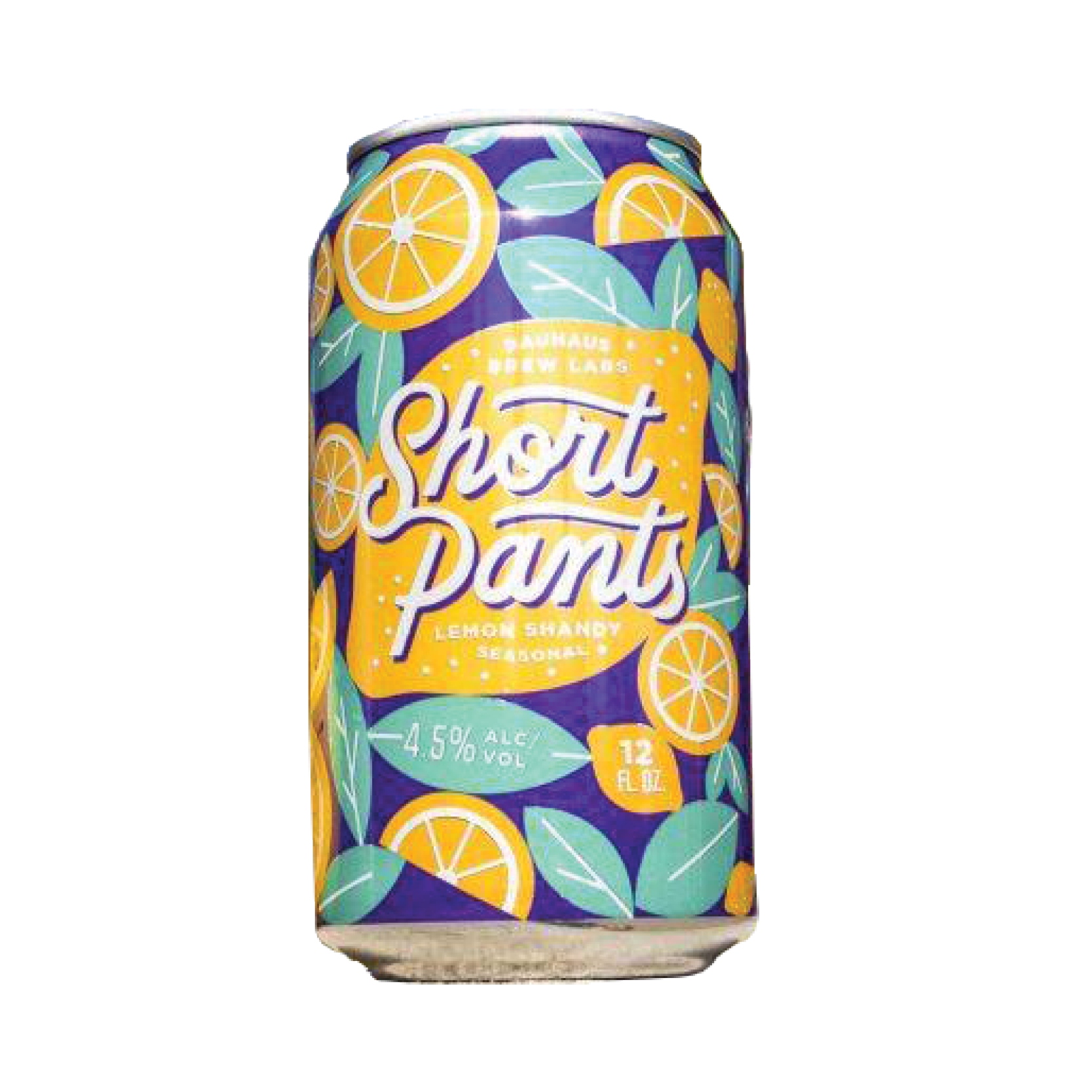 Bauhaus BAUHAUS SHORT PANTS LEMON SHANDY 6 PK CAN