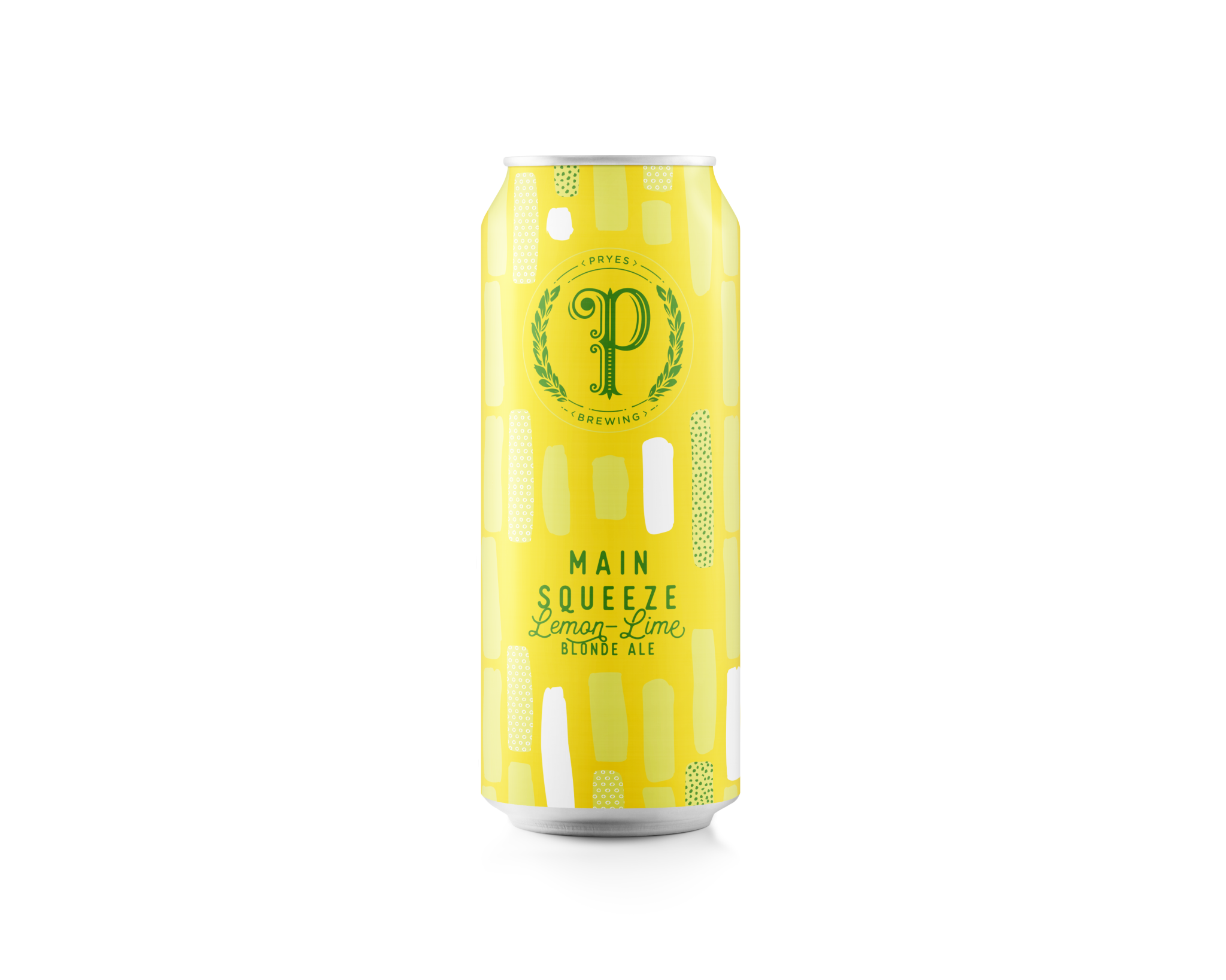 Pryes Brewing PRYES BREWING MAIN SQUEEZE LEMON LIME BLONDE ALE 4 PK CANS