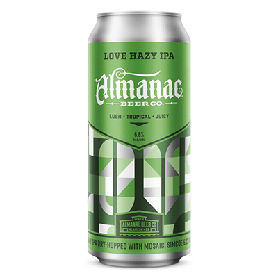 Almanac Beer Co. ALMANAC LOVE HAZY IPA 4 PK CANS