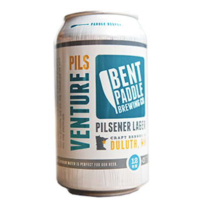 Bent Paddle Brewing Co. BENT PADDLE VENTURE PILSNER LAGER 6 PK CAN