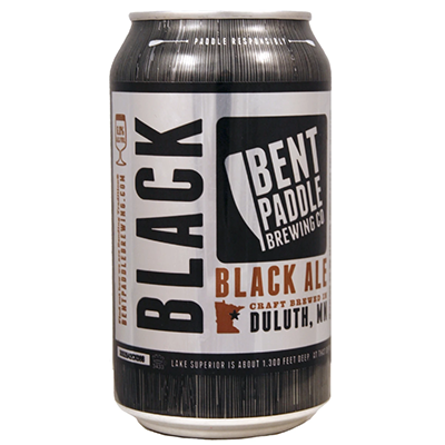 Bent Paddle Brewing Co. BENT PADDLE BLACK ALE 6 PK CAN