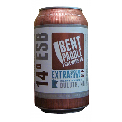 Bent Paddle Brewing Co. BENT PADDLE 14 ESB AMBER 6 PK CAN