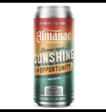 Almanac Beer Co. ALMANAC SUNSHINE AND OPPORTUNITY SAISON 4 PK CANS