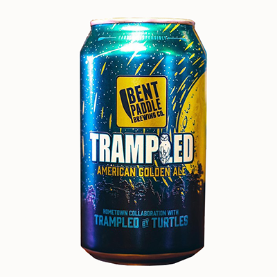 Bent Paddle BENT PADDLE TRAMPLED GOLDEN ALE 6 PK CANS
