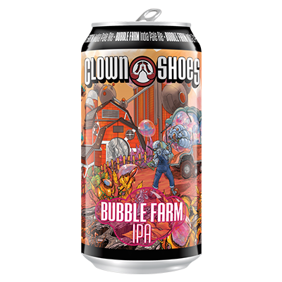 Clown Shoes Beer Co. CLOWN SHOES BUBBLE FARM IPA 12 PK CANS