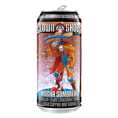 Clown Shoes Beer Co. CLOWN SHOES MOCHA SOMBRERO 4 PK CANS