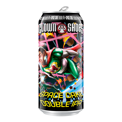Clown Shoes Beer Co. CLOWN SHOES SPACE CAKE IPA 4 PK CAN