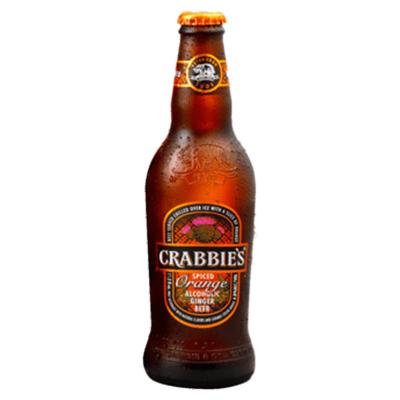 Crabbie's CRABBIES ORANGE GINGER BEER 4 PK BTL