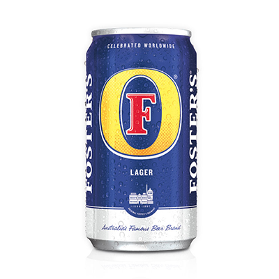 FOSTERS LAGER 25 OZ SINGLE CAN