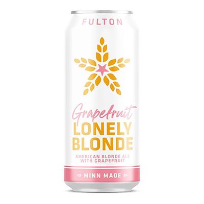 Fulton FULTON GRAPEFRUIT LONELY BLONDE ALE 4 PK CANS