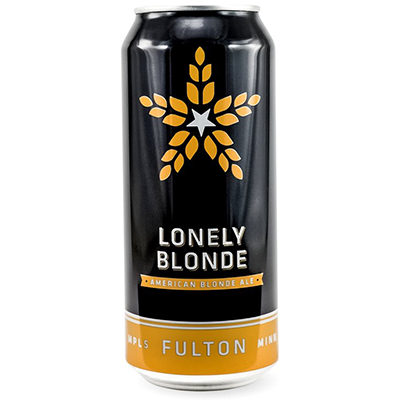 Fulton FULTON LONELY BLONDE ALE 12 PK CANS