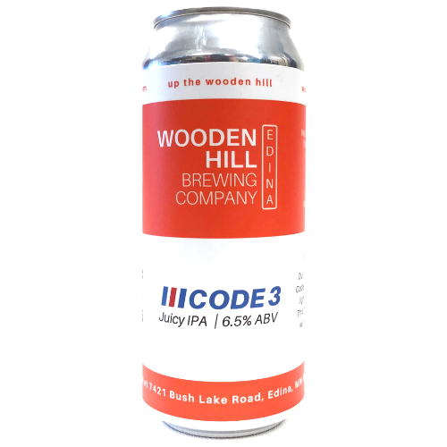 Wooden Hill WOODEN HILL CODE 3 IPA 4 PK CANS