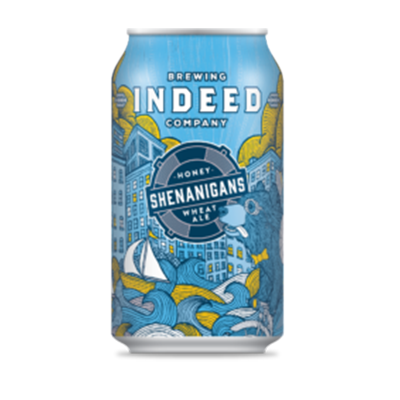 Indeed Brewing Co. INDEED SHENANIGANS HONEY WHEAT ALE 6 PK CAN