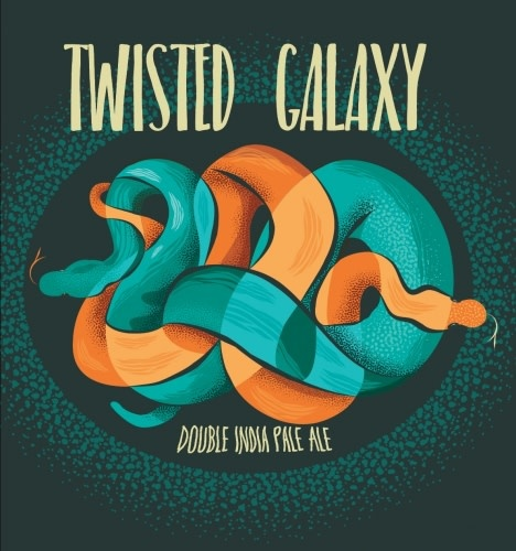 Toppling Goliath Brewing Co. TOPPLING GOLIATH TWISTED GALAXY DOUBLE IPA 4 PK CANS