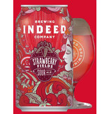 Indeed Brewing Co. INDEED STRAWBERRY FIELDS SOUR ALE 4 PK CANS