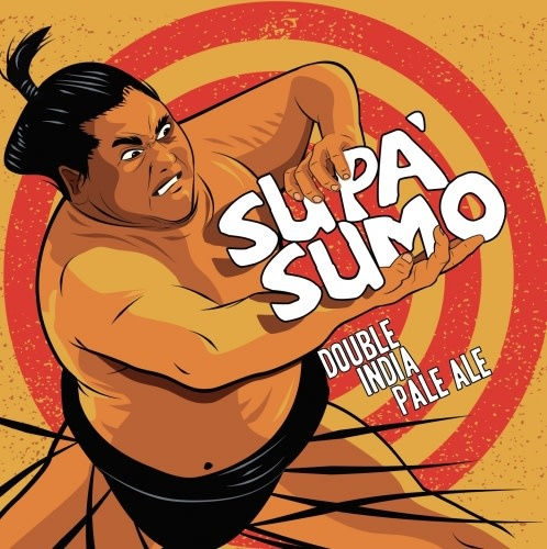 Toppling Goliath Brewing Co. TOPPLING GOLIATH BREWING SUPA SUMO DOUBLE IPA 4 PK CANS