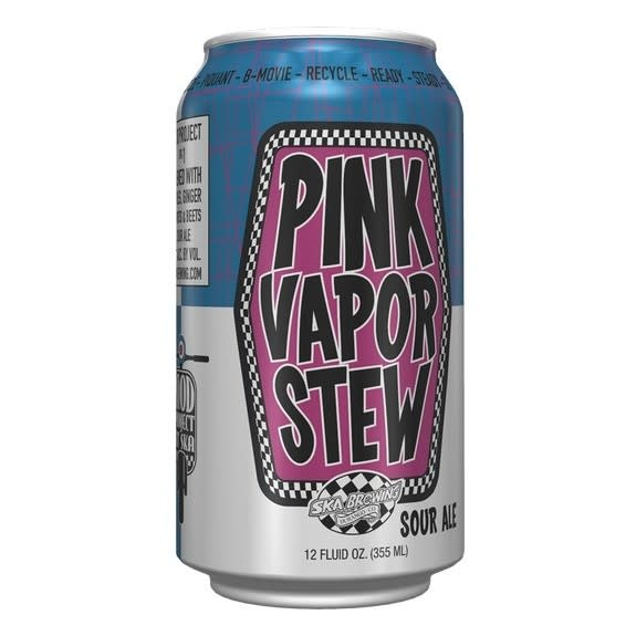 Ska Brewing SKA BREWING PINK VAPOR STEW SOUR ALE 6 PK CANS