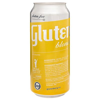Glutenberg GLUTENBERG BLONDE 4 PK CAN