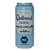 MKE Brewing MKE BREWING OUTBOARD CREAM ALE 4 PK CAN