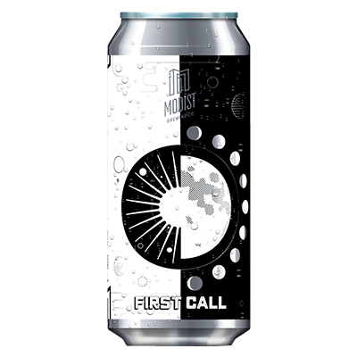 Modist Brewing Co. MODIST FIRST CALL COLD PRESS COFFEE LAGER 4 PK CAN