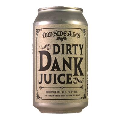 Odd Side Ales ODD SIDE ALES DIRTY DANK JUICE IPA 6 PK CANS