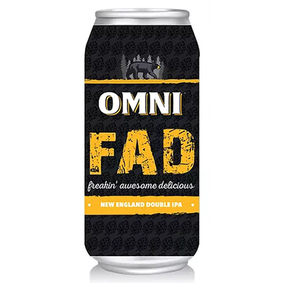 OMNI Brewing Co. OMNI BREWING FAD DOUBLE IPA 4 PK CAN