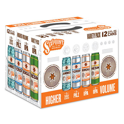 Sixpoint SIXPOINT HIGHER VOLUME VARIETY PACK 12 PK CAN