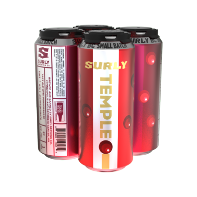 Surly Brewing Co. SURLY TEMPLE IMPERIAL SOUR 4 PK CANS