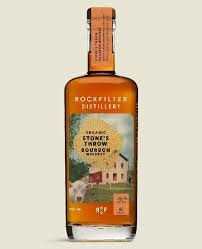 ROCKFILTER STONES THROW BOURBON 750ML