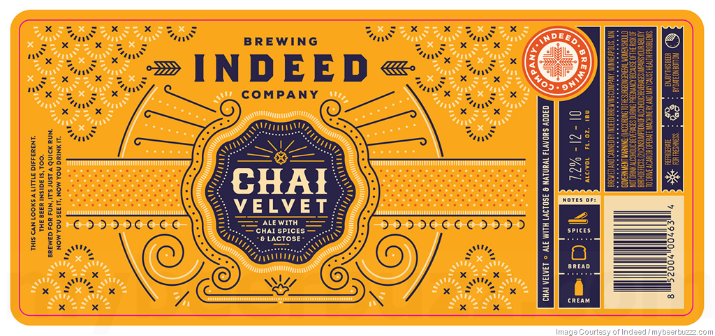 Indeed Brewing Co. INDEED BREWING CHAI VELVET AMBER ALE 4 PK CANS