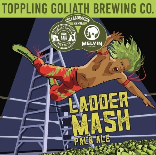 Toppling Goliath Brewing Co. TOPPLING GOLIATH LADDER MASH IPA 22 OZ BTL