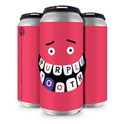 Fair State Brewing Cooperative FAIR STATE PURPLE TOOTH BA STOUT 16 OZ SINGLE CAN