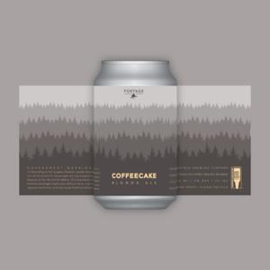 Portage Brewing PORTAGE BREWING COFFEECAKE BLONDE ALE 750ML CROWLER