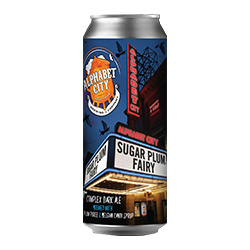ALPHABET CITY SUGAR PLUM FAIRY BELGIAN DARK ALE 4 PK CANS