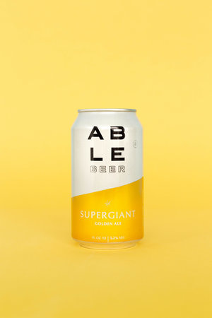 Able Seedhouse + Brewery ABLE SEEDHOUSE + BREWERY SUPERGIANT GOLDEN ALE 6 PK CAN