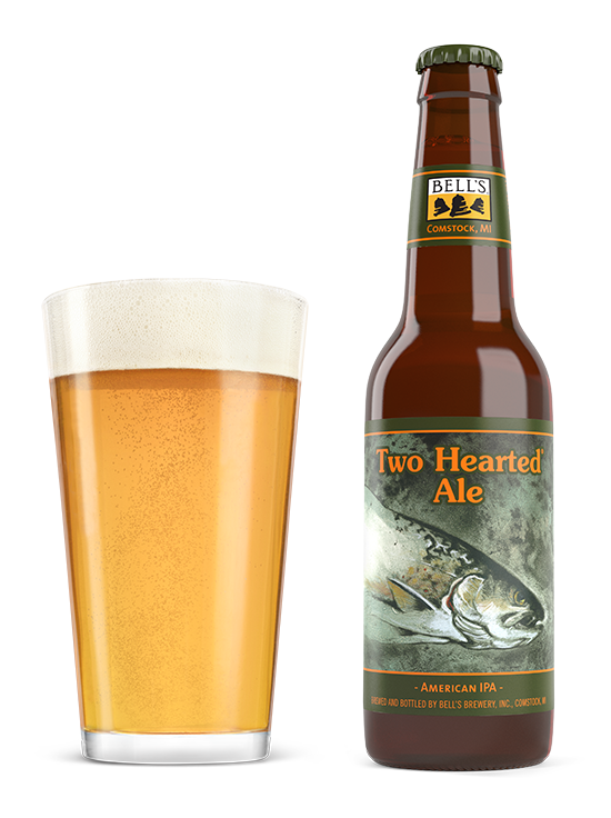 Bell's Brewery Co. BELLS BREWERY TWO HEARTED ALE IPA 4 PK CAN