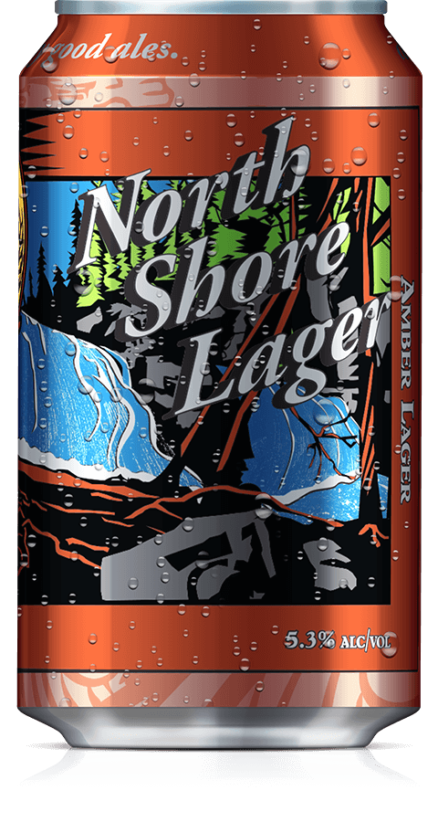 Castle Danger Brewery CASTLE DANGER NORTH SHORE LAGER 6 PK CAN