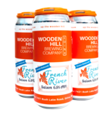 Wooden Hill Brewing Company WOODEN HILL BREWING FRENCH RIVER SAISON 4 PK CANS
