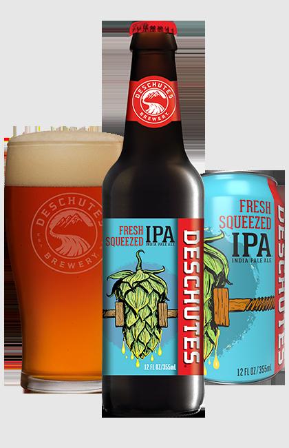 Deschutes Brewery DESCHUTES FRESH SQUEEZED IPA 6 PK BTL