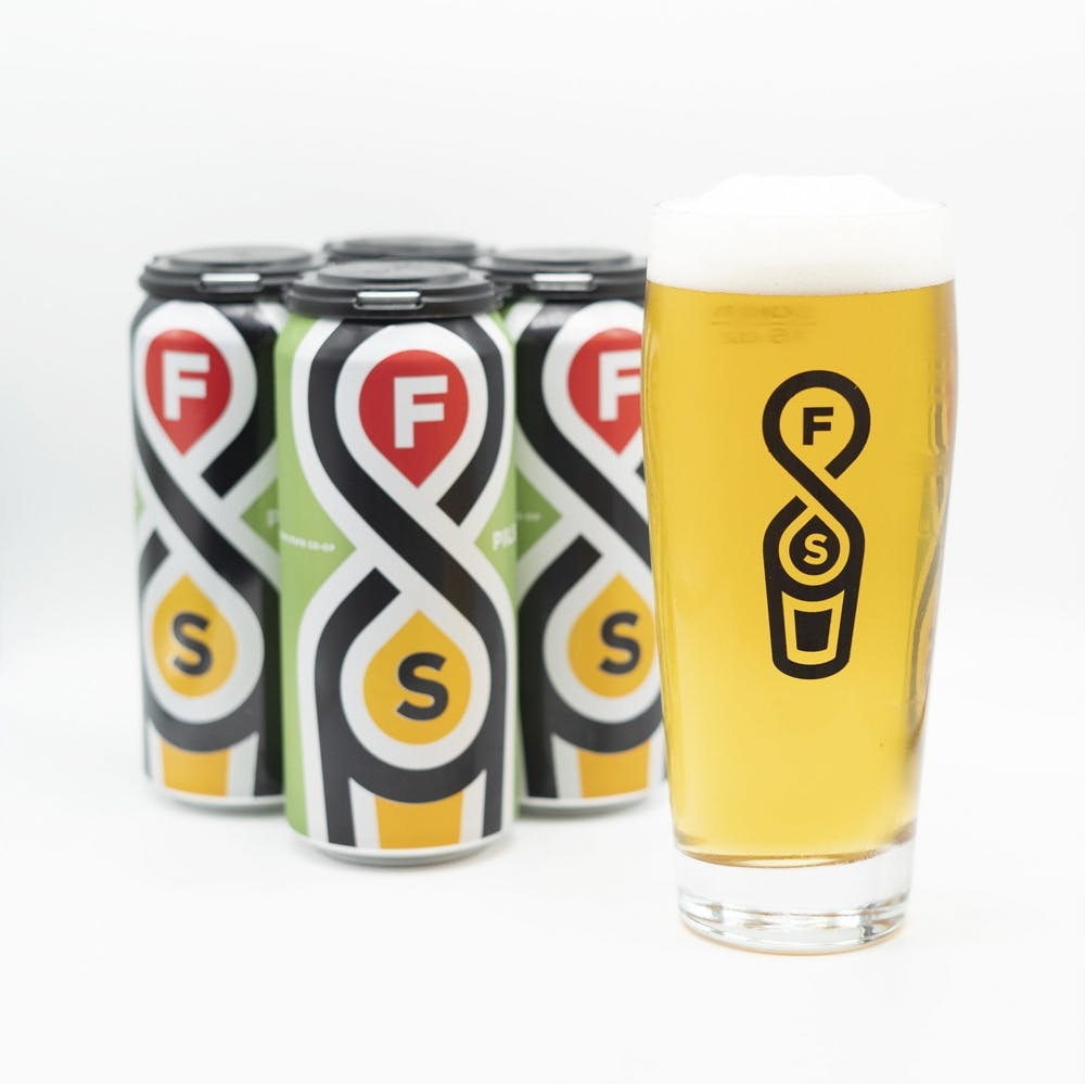 Fair State Brewing Cooperative FAIR STATE PILS 4 PK CAN