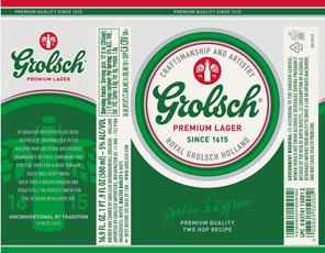 Grolsch GROLSCH 12 PK BTL